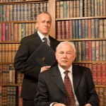 Crispin Redman (Sir Humphrey) and Michael Fenton Stevens (PM Jim Hacker)